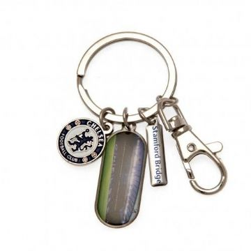 Chelsea FC Keyring with 3 Charms